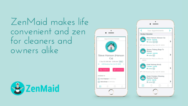 Zenmaid Cleaning Business Software